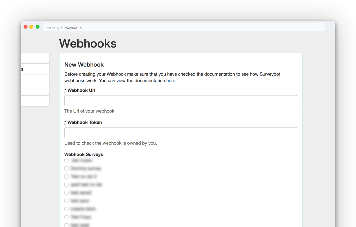 Integrations webhooks 2