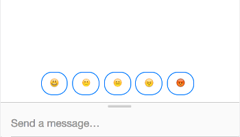 Preview emoji likert scale