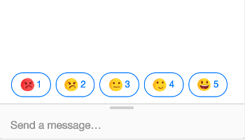 Preview emoji rating